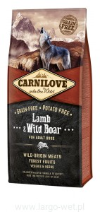 Carnilove Lamb & Wild For Adult