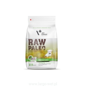 RAW PALEO PUPPY MINI BREED - 2,5KG