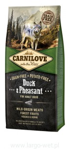 CARNILOVE DUCK&PHEASANT ADULT DOGS